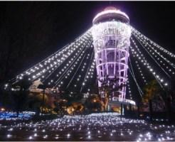 江の島 シーキャンドル イルミネーション クリスマス