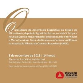 Convite da Assembleia 08 11 2019