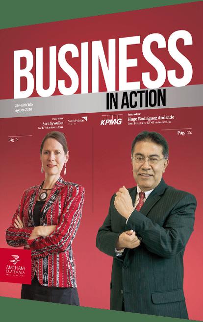 Revista business in action agosto 2018