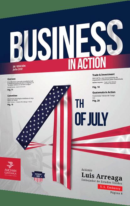 Revista business in action julio 2018