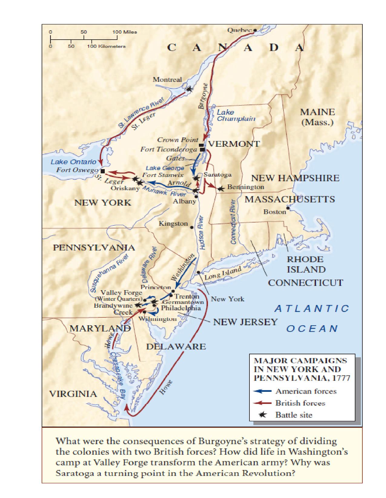 The Battle Of Saratoga 17 10