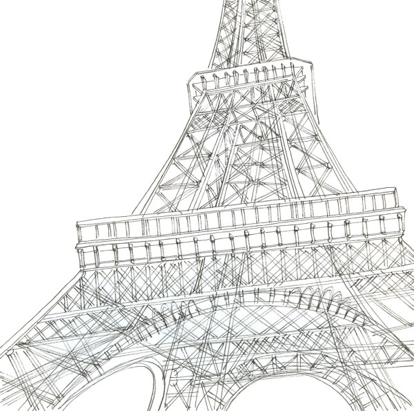 Eiffel Skeleton Paris