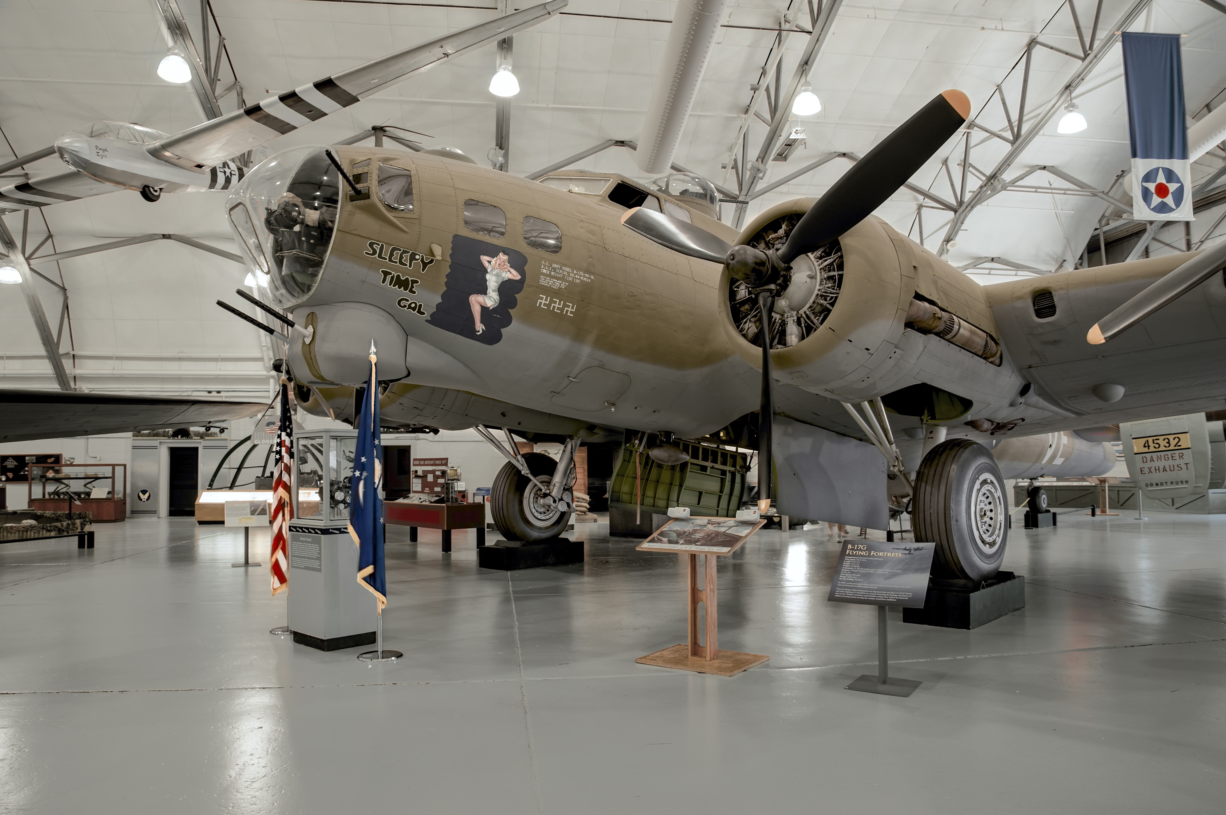 B17G Flying Fortress  Air Mobility Command Museum