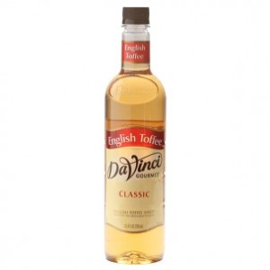 Da Vinci English Toffee (750 ml)