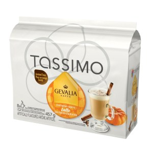 Gevalia Pumpkin Spice Latte (8 pack) - for Tassimo brewers