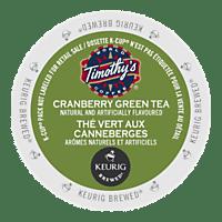 Timothy's Cranberry Twist Green Tea (24 Pack)