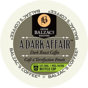 Balzac's A Dark Affair  (24 Pack K-Cups)