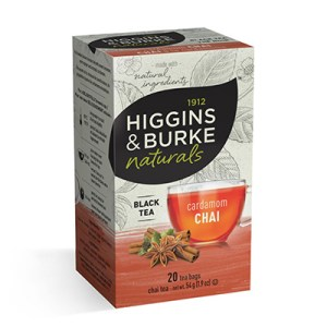 Higgins and Burke Cardamom Chai Tea