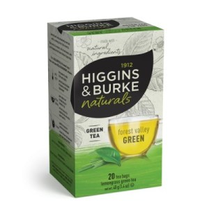 Higgins and Burke Green Tea