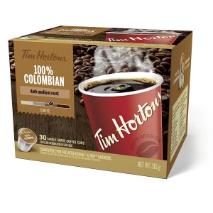 Tim Horton 100% Colombian 30 Count