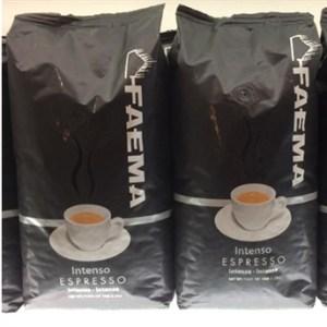 Faema intenso espresso 1 kg bag