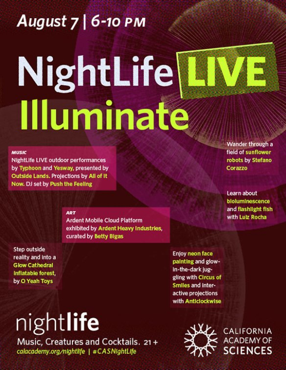 Night Life Flyer