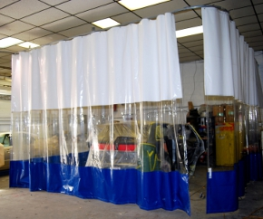 Spray Booth Curtains  Paint Booth Curtains  Curtain Walls