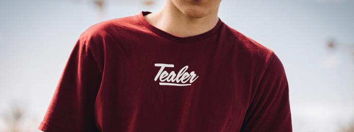 t-shirt with heat press vinyl printing