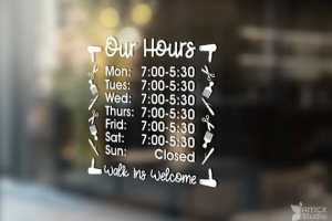 Salon Hours Styling Tools