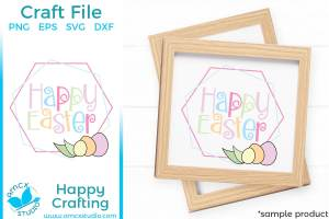Happy Easter Sign Home Decor