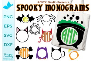 Halloween Monogram Bundle