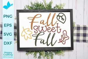 Fall Sweet Fall SVG