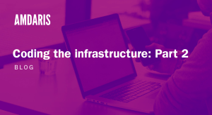 Coding the infrastructure