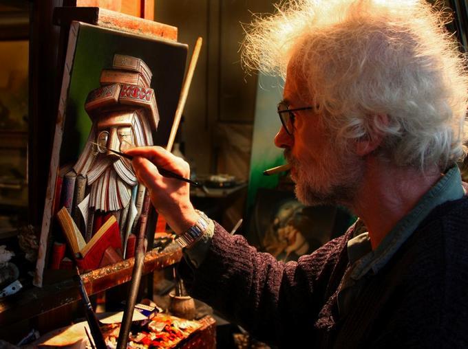The painter in Paris