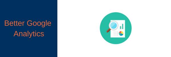 Better google analytics plugin logo