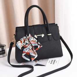 Black Colored Tote Handbag