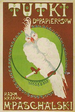 'tukti dopapierosow' poster.