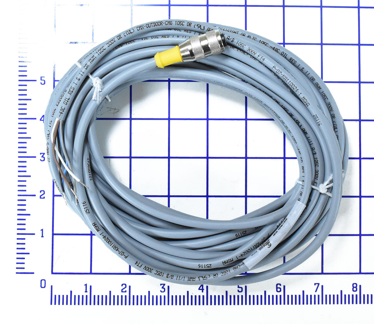 hight resolution of cable home run qd 5 wire 10m