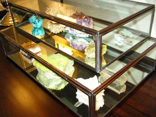 rock collection in clarus glass