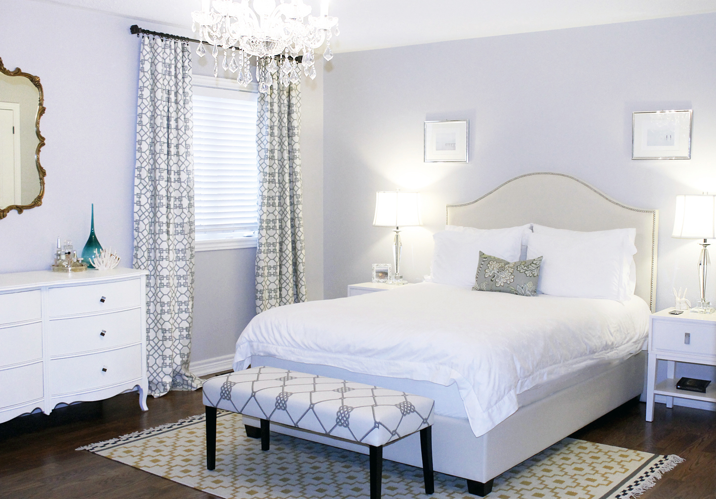 Master Bedroom Before and After  AM Dolce Vita