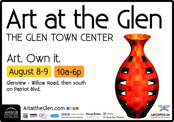 Art at the Glen This Weekend August 8 9 2015 Amdur