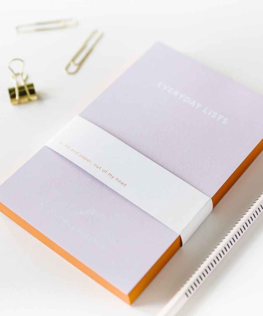 EVERYDAY LIST - A JOURNAL, Notebook, ame bordeaux, carnet, boutique bordeaux, carnets