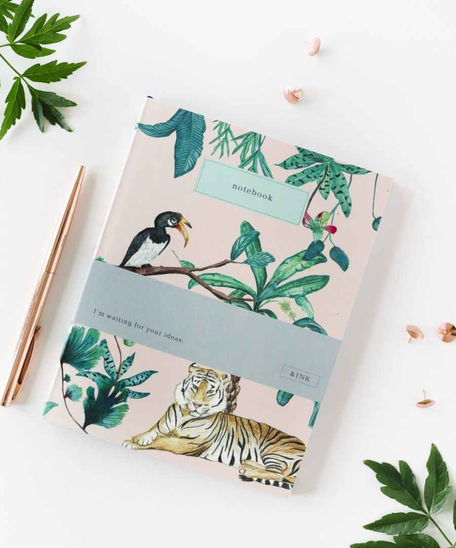 Note book, To do list Jungle, A JOURNAL, Notebook, ame bordeaux, carnet, boutique bordeaux, carnets