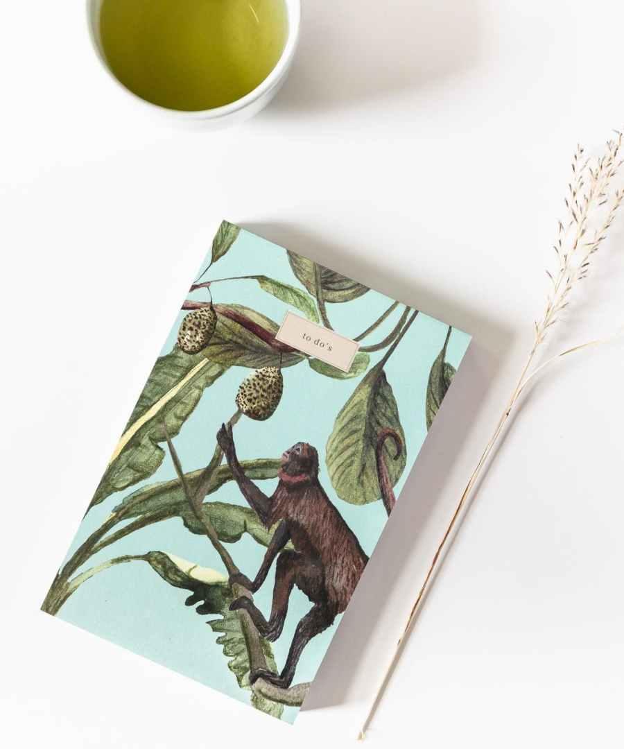 To do list Jungle, A JOURNAL, Notebook, ame bordeaux, carnet, boutique bordeaux, carnets