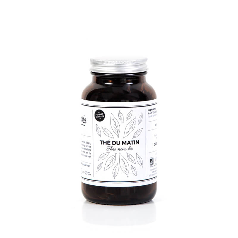 THÉ NOIR DU ÂME BORDEAUX, MATIN 70GR - GREENMA, THES, INFUSIONS, DIGEST, DETOX, THE NOIR, DREAM