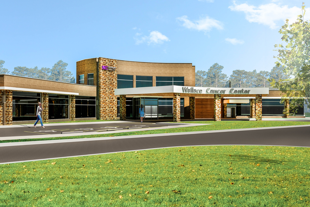 Exterior image of the Wellness Cancer Center