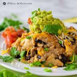 Green-Chile-Rice Chicken Casserole