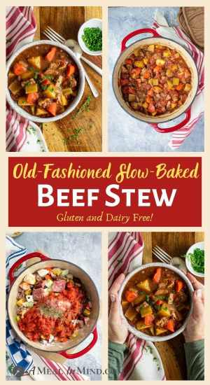 Old Fashioned Oven Baked Beef Stew pinterest 4 image