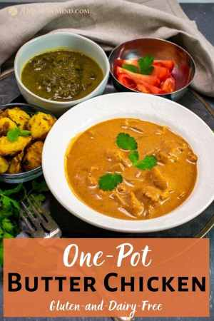 One-Pot Butter Chicken pinterest image