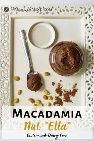 "Macadamia Nut""ella"" - Gluten and Dairy Free pinterest image bottom text"