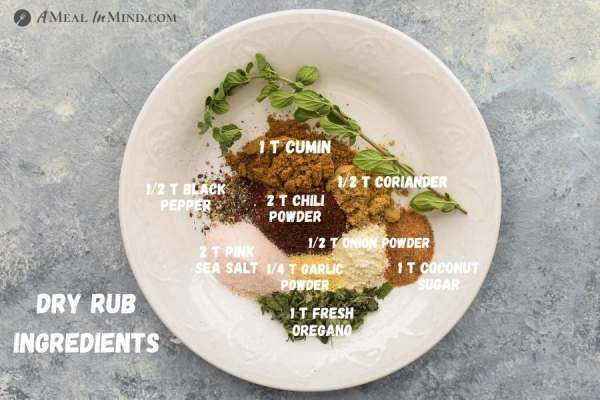 seasonings for spice rub for dutch oven carne asada