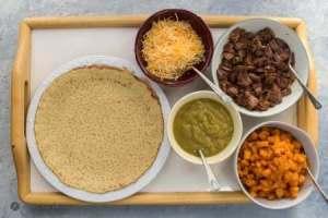 ingredients for carne asada butternut squash enchiladaas
