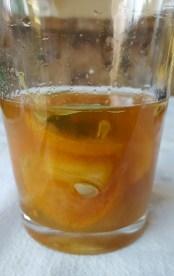 Add .25 oz lemon juice and 2 oz bourbon
