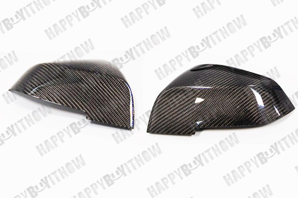 12+ BMW F30 F31 CARBON FIBER SIDE MIRROR COVERS CAPS Fit M