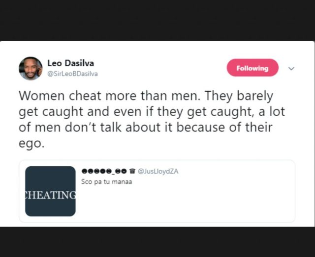 'Women Cheat More Than Men, But They Barely Get Caught' - BBNaija's Leo Dasilva