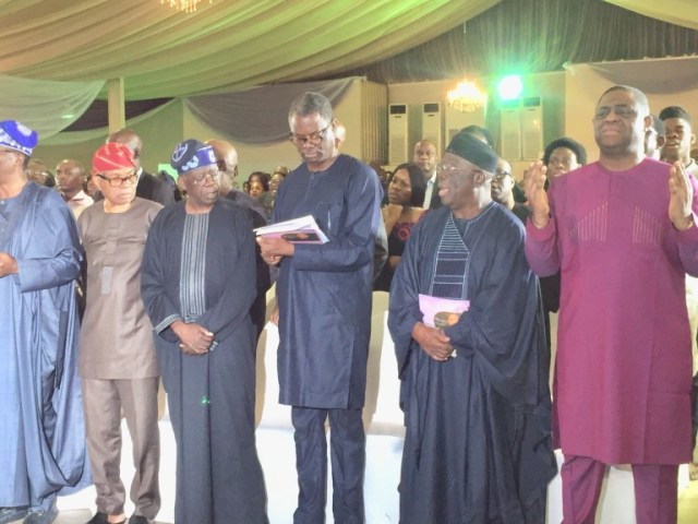 Tinubu, Gbajabiamila, FFK Attend Night Of Tributes For Late Mrs. Funke Olakunrin