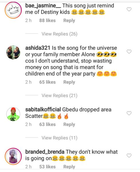#Gelato Dance by Cuppy & Keffydance goes sour as fans react negatively