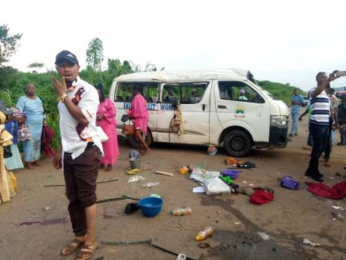 Ekiti Accident Killed Five Wedding Guests and Injures Others