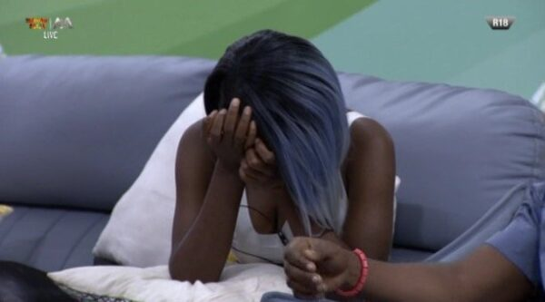 BBnaija: Sir Dee evicted from the house, Diane breaks down, see how you voted (photos)