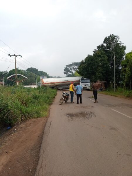 Pray for Anambra: Agulu excapes another tanker fire hazards